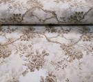 Бязь Ranforce коричневые розы