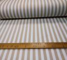 Бязь Ranforce полоса широкая цвета карамели
