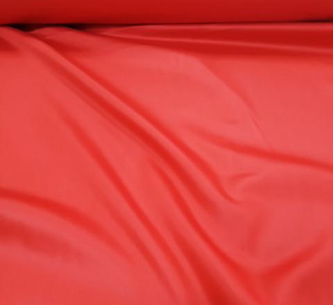 Сатин. Гладкокрашенный красный К-03