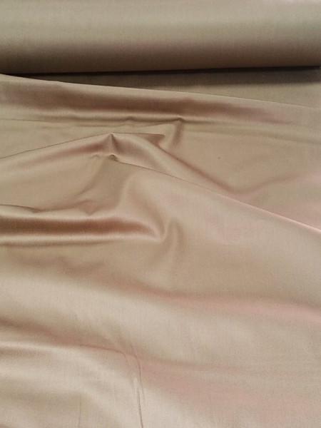 Сатин. Гладкокрашенный коричневый К-04