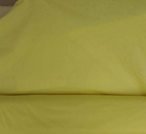 Поплин ш220см. Желтый однотон
