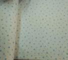 Бязь Ranforce голубые звезды на белом фоне средние