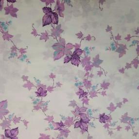 Бязь Ranforce сиренево-фиолетовые вьюнки