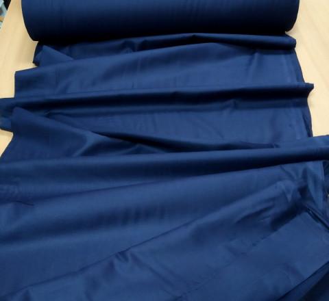 Сатин. Гладкокрашенный тёмно-синий ТС-01