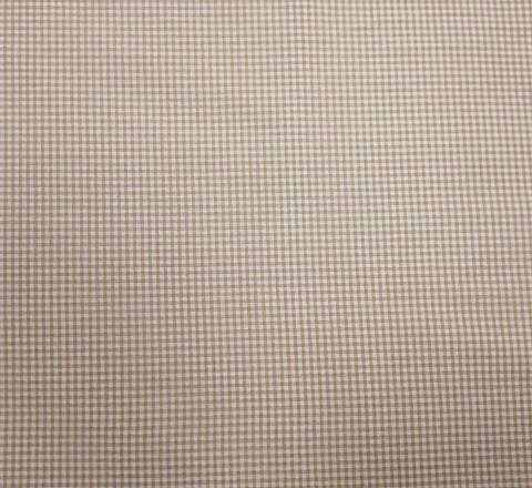 Бязь Ranforce карамельно-белая клетка