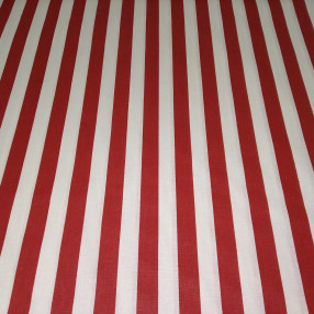Бязь Ranforce полоса широкая цвет красный