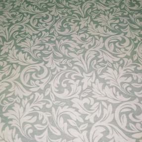 Бязь Ranforce узоры на пыльно-зеленом фоне