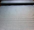 Бязь Ranforce белый горох на сером фоне мелкий