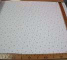 Бязь Ranforce пыльно-розовые звезды на белом фоне маленькие