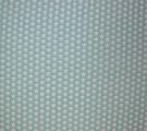 Бязь Ranforce белые звезды на мятном фоне маленькие 2