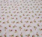 Бязь Ranforce маленькие цветочки малиновые