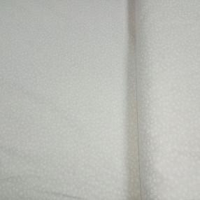 Бязь модная.Белая полянка на розовом фоне