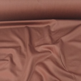 Сатин. Гладкокрашенный шоколадный Ш-01