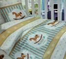 Сатин. Королевские лошадки. Основной и компаньон