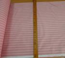 Бязь Ranforce  Страйп пыльно-розовый