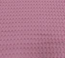 Вафельное полотно ш240см. Цвет: Розовый