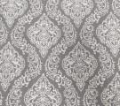 Бязь Ranforce белые узоры на сером фоне