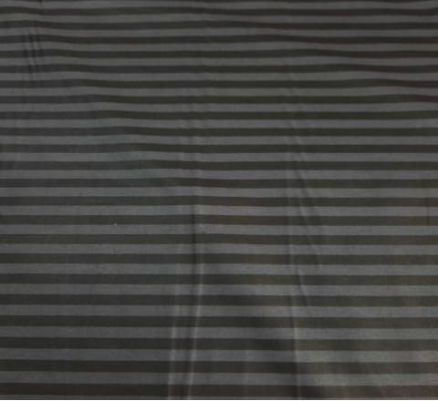Бязь Ranforce  Страйп графитово-черный