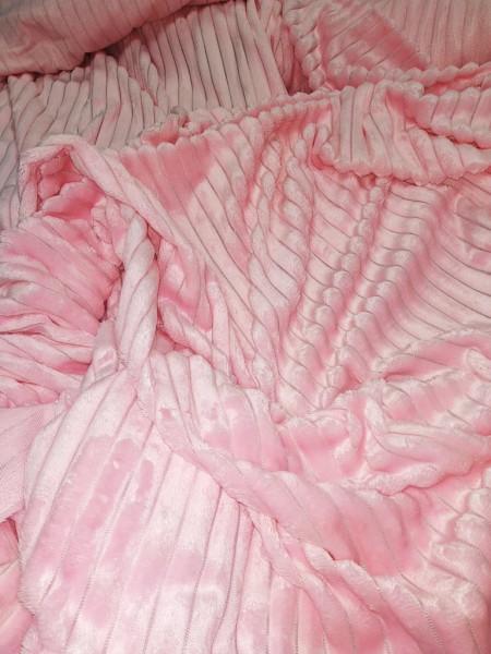 Плюш Минки Королевский розовый