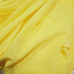 Вафельное полотно. Желтый