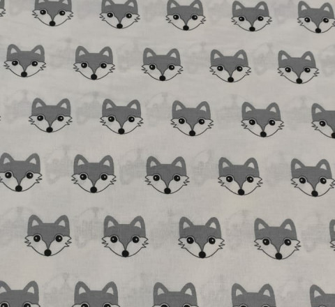 Бязь Ranforce волчата