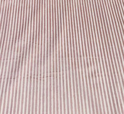 Бязь Ranforce узкая полоса с коричневым глиттером