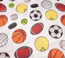 Бязь Ranforce  Мячи