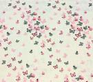 Муслин Розовые бабочки