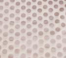 Бязь Ranforce круги с коричневым глиттером