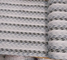 Бязь Ranforce  серо-черная рябая полоса