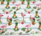 Фланель. Фламинго и ананасы