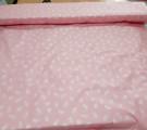 Тик пуходержащий Перья на розовом