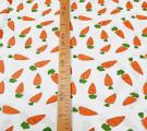 Бязь Ranforce  Морковки