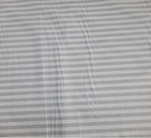 Бязь Ranforce  Страйп серый