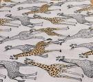 Бязь Ranforce жирафы