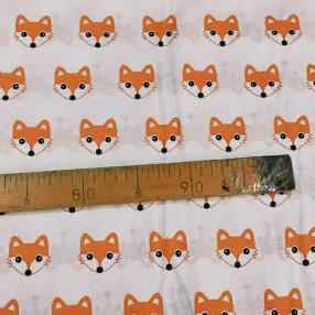 Бязь Ranforce лисы