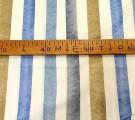 Бязь Ranforce  Акварельная полоса синяя