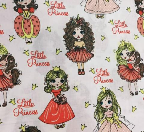 Бязь Ranforce маленькие принцессы (little princess)