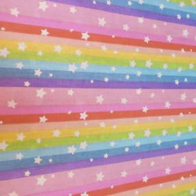Бязь Ranforce  Звезды на радуге №1