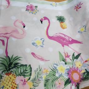 Бязь Ranforce фламинго