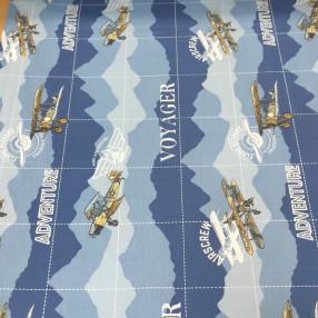 Бязь Ranforce самолеты