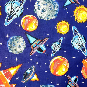 Бязь Ranforce Космос 2