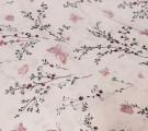 Бязь Ranforce пыльно-розовые бабочки и цветы
