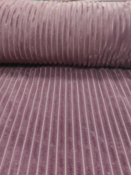 Плюш Минки Королевский пыльно-розовый темный