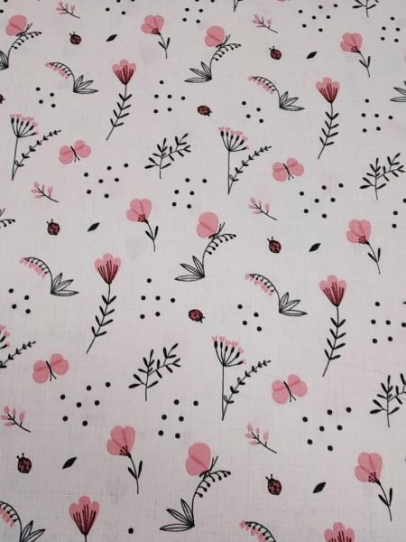 Муслин Нежные цветы
