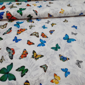 Бязь ш 220см. ГОСТ бабочки