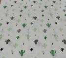 Бязь Ranforce кактусы
