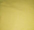 Бязь модная. Белый горох на светло-желтом фоне