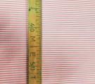 Бязь Ranforce пыльно-розовая полоса 0.5см