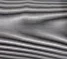 Бязь Ranforce чёрно-белая полоса узкая
